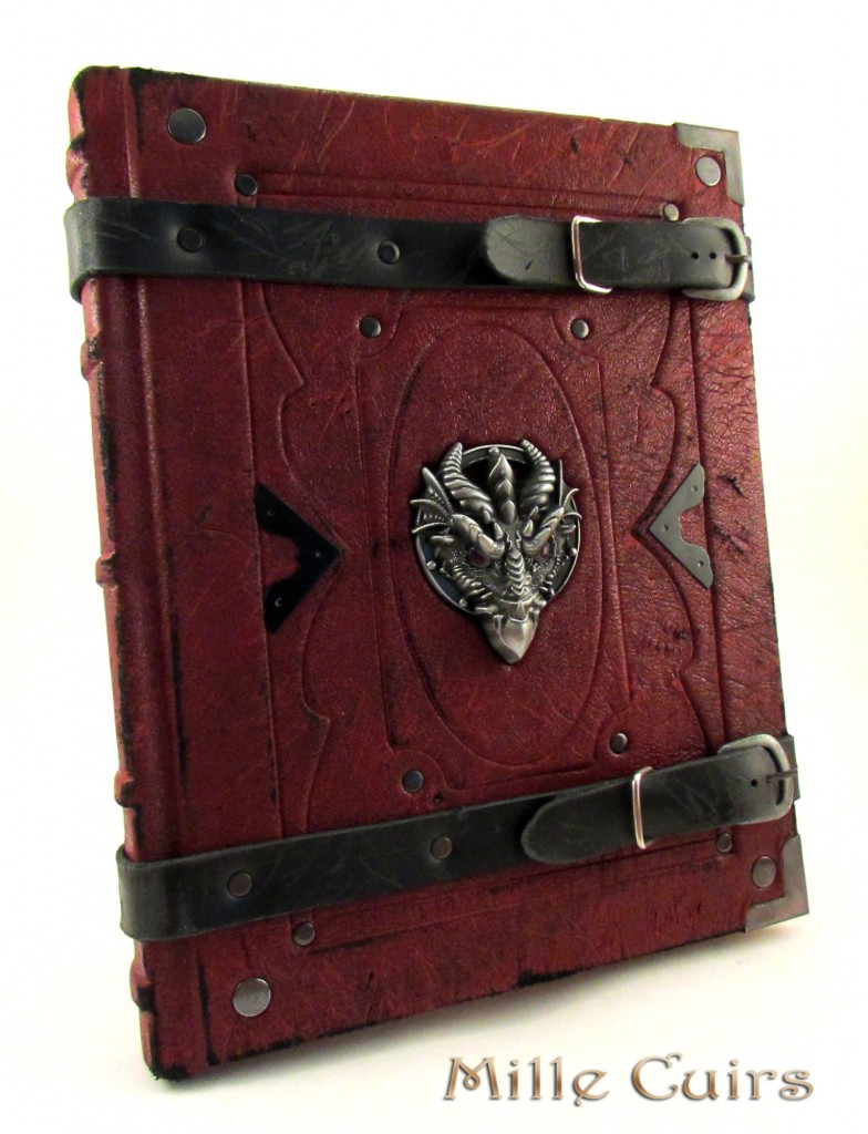 Red Leather Dragon Book