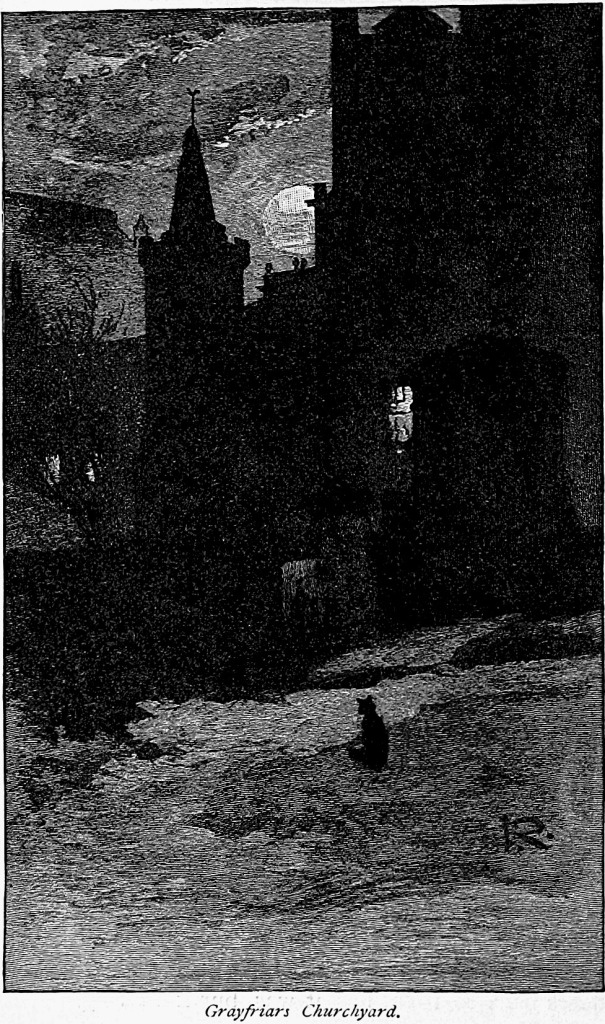 Grayfriars Churchyard, from Gray Days and Gold by William Winter, 1896
