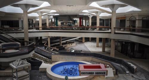 Abandoned shopping malls at The Skeleton Key