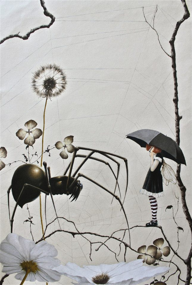 image Spider and the fly woodman369