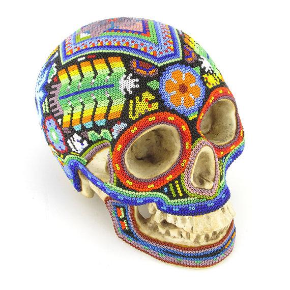 Skull from Viva Mexico