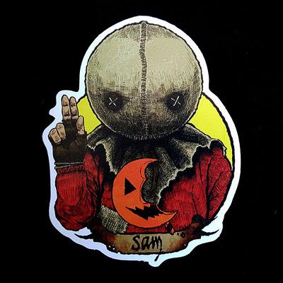 Halloween Saint stickers