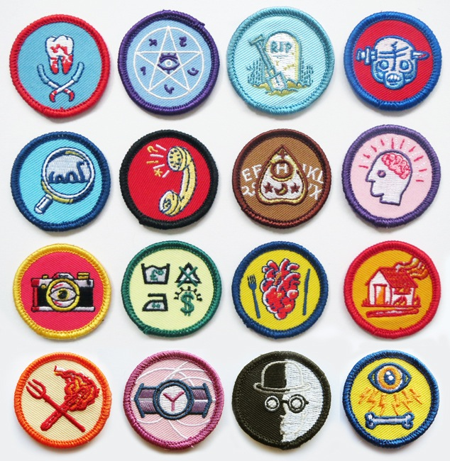 Alternative scouting badges by Lukedrozd