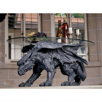 Warwickshire Dragon Coffee Table